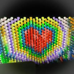 light brite heart