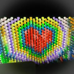 light brite heart