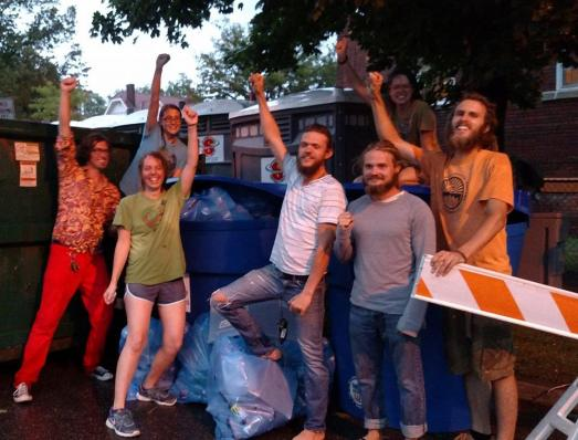 zero waste finally square fest 2016