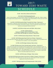 HOS 2017_Schedule
